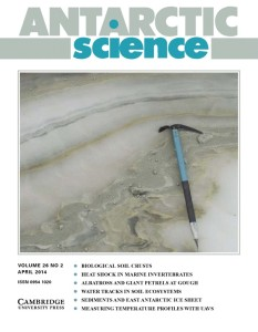 Antarctic Science Vol 26 Issue 2