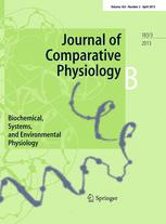 Journal of Comparative Physiology B April 2013 Vol 183 Issue 3